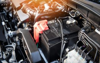 Battery in the car